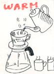 コーヒーの淹れ方イラスト